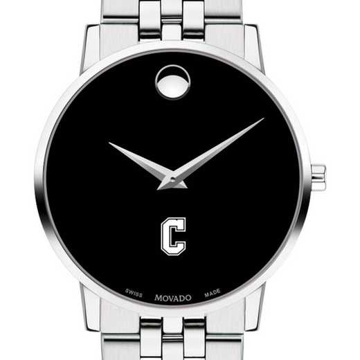 615789480600: College of Charleston Men's Movado Museum w/ Bracelet