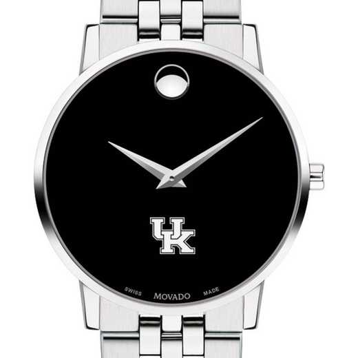 615789513254: Uniof Kentucky Men's Movado Museum with Bracele