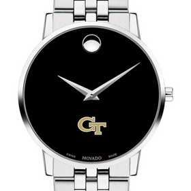 615789571254: Georgia Tech Men's Movado Museum w/ Bracelet
