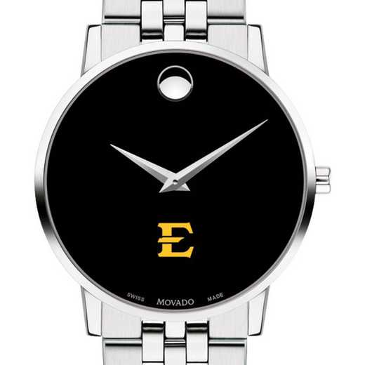 615789616221: East Tennessee State Univ Men's Movado Museum w/ Bracelet