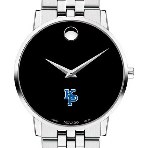 615789676362: US Marine Academy Men's Movado Museum with Bracelet