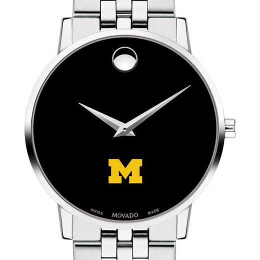 615789737162: u of Michigan Men's Movado Museum with Bracelet