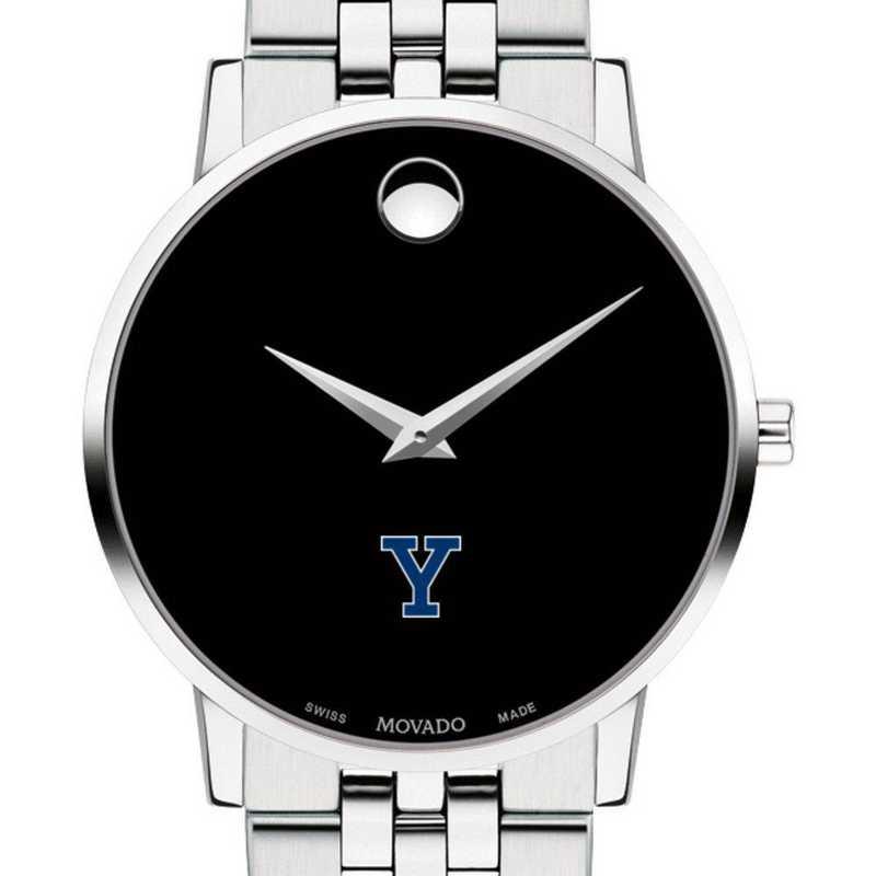 615789739418: Yale Univ Men's Movado Museum with Bracelet