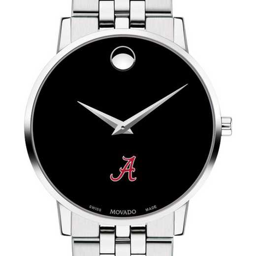 615789863434: Univ of Alabama Men's Movado Museum w/ Bracelet