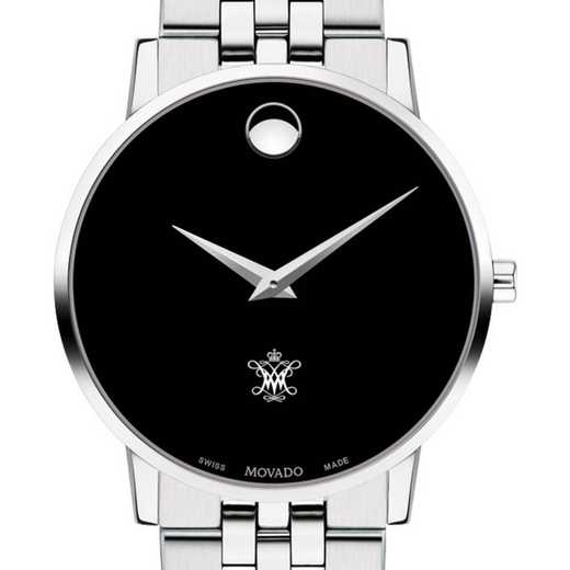 615789893080: College of William & Mary Men's Movado Museum with Bracelet