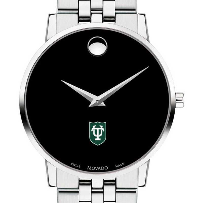 615789979623: Tulane Univ Men's Movado Museum with Bracelet