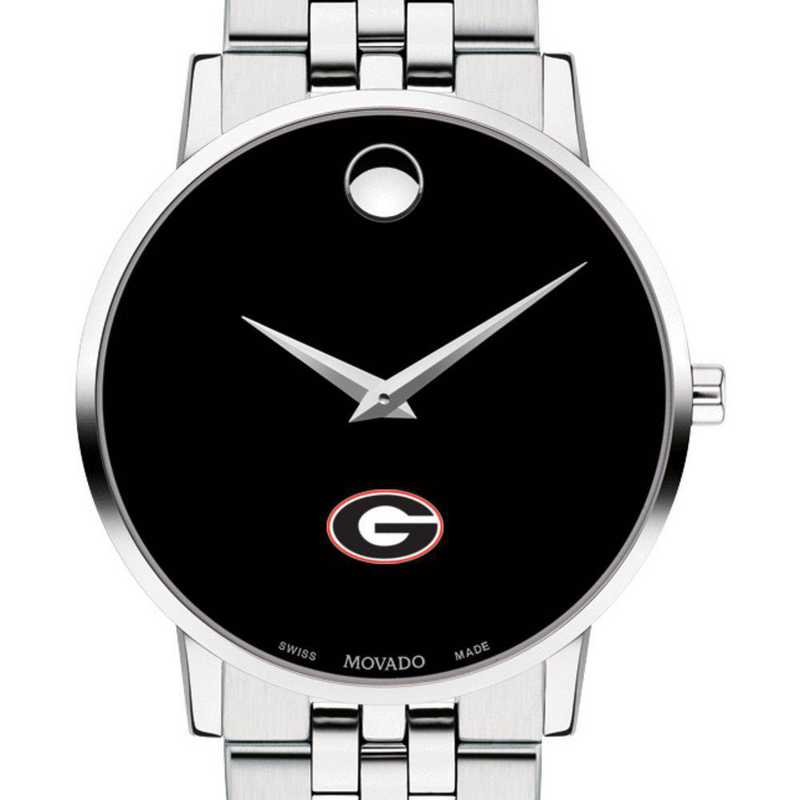 615789994985: Univ of Georgia Men's Movado Museum w/ Bracelet