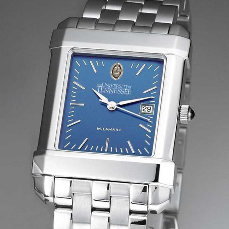 615789116004: Tennessee Men's Blue Quad Watch with Bracelet