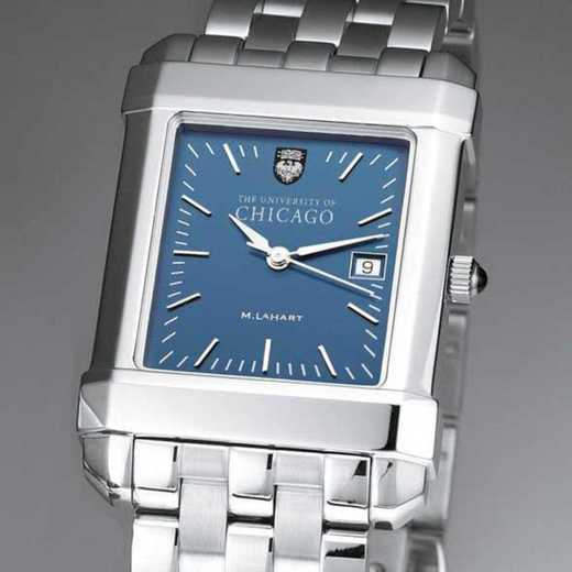 615789304883: Chicago Men's Blue Quad Watch with Bracelet