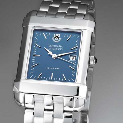 615789410607: Columbia University Men's Blue Quad Watch with Bracelet