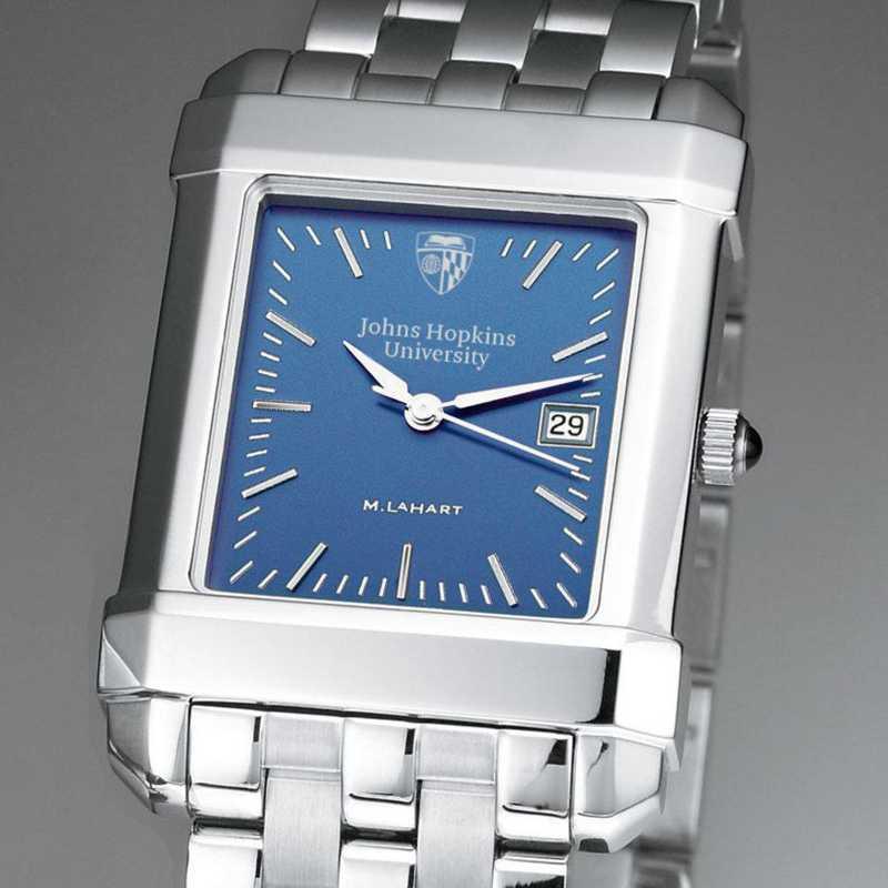 615789581116: Johns Hopkins Men's Blue Quad Watch with Bracelet