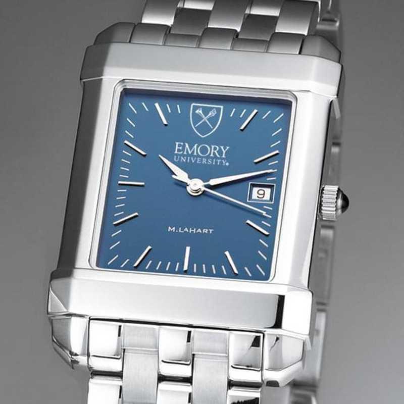 615789671312: Emory Men's Blue Quad Watch with Bracelet