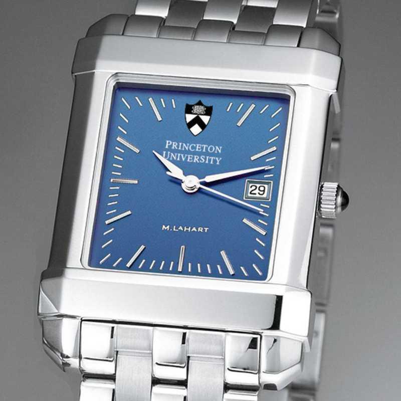 615789853176: Princeton Men's Blue Quad Watch with Bracelet