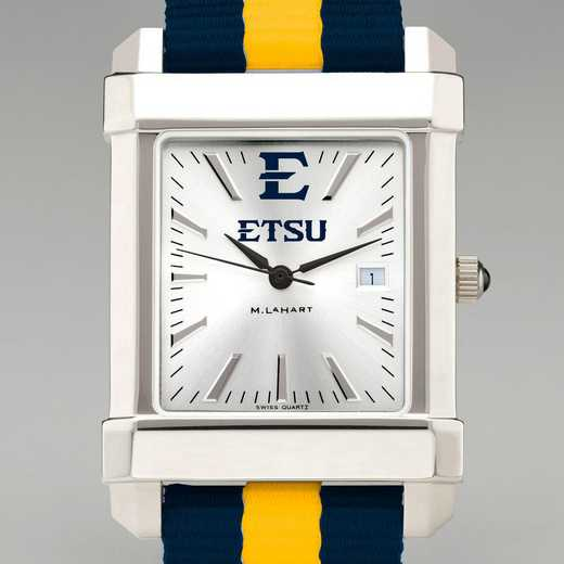 615789024613: East Tennessee St Univ Collegiate WatchW/NATO Strap for Men