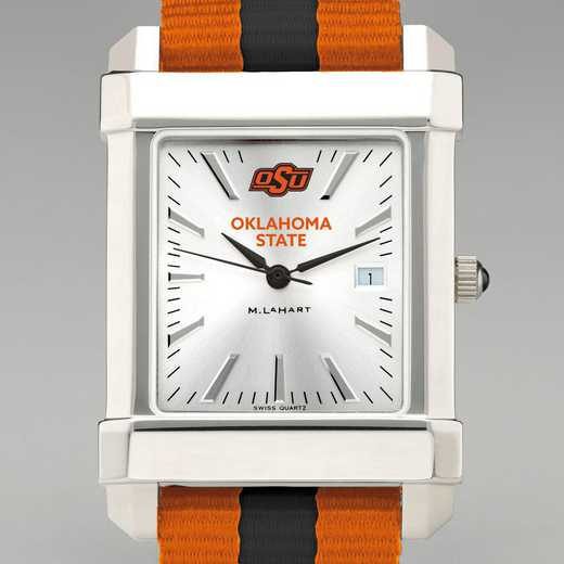 615789249511: Oklahoma State Univ Collegiate Watch W/NATO Strap for Men