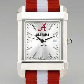 615789298724: Univ of Alabama Collegiate Watch W/NATO Strap for Men