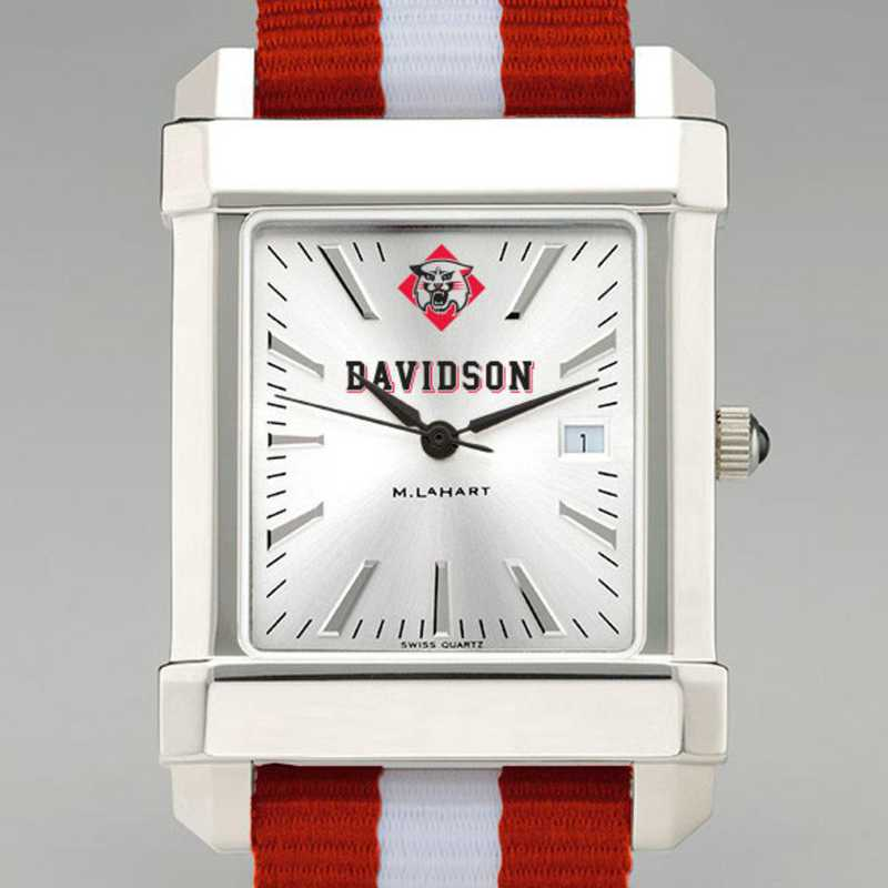 615789303749: Davidson College Collegiate Watch W/NATO Strap for Men