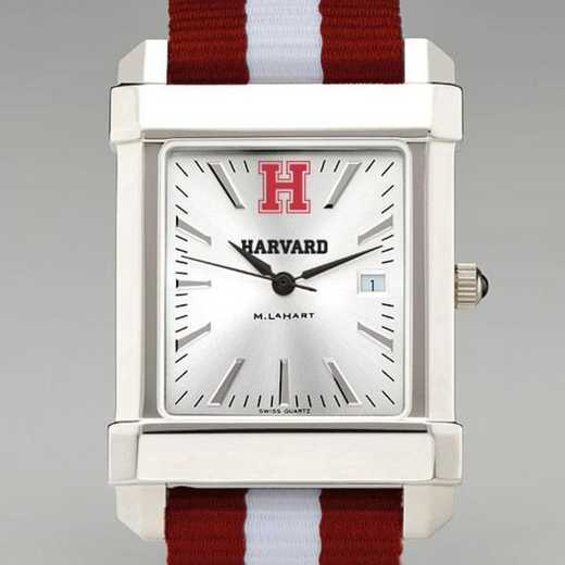 615789324584: Harvard Univ Collegiate Watch W/NATO Strap for Men