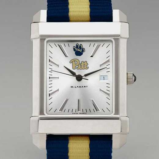 615789326113: Pitt Collegiate Watch W/NATO Strap for Men