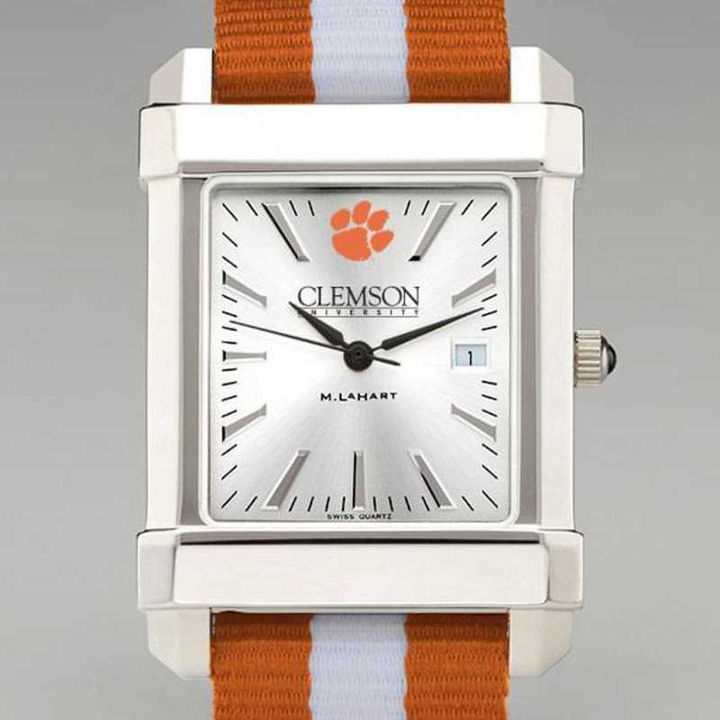 615789371410: Clemson Collegiate Watch W/NATO Strap for Men
