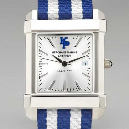 615789395225: US Merchant Marine Academy Collegiate Watch W/NATO Strap