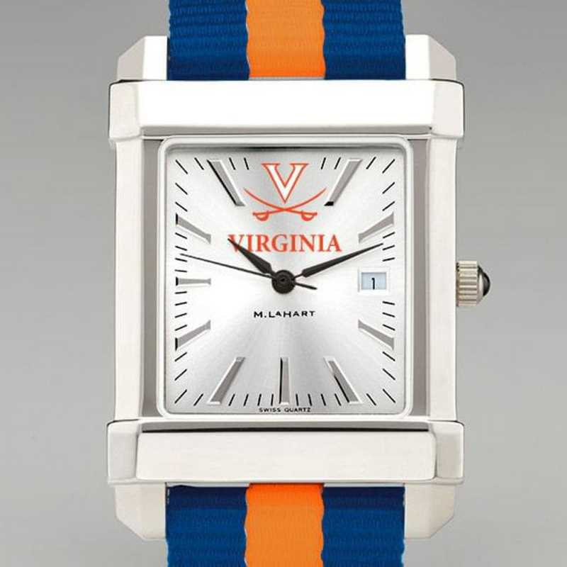 615789471653: Univ of Virginia Collegiate Watch W/NATO Strap for Men