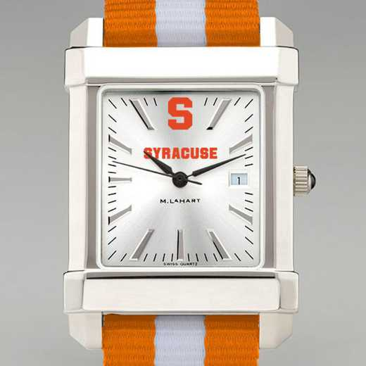 615789760061: Syracuse Univ Collegiate Watch W/NATO Strap for Men