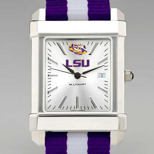 615789812524: Louisiana State Univ Collegiate Watch W/NATO Strap for Men