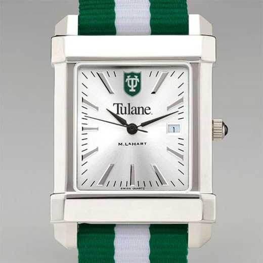 615789813668: Tulane Univ Collegiate Watch W/NATO Strap for Men