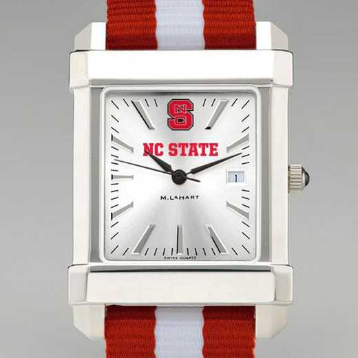 615789863762: North Carolina State Collegiate Watch W/NATO Strap for Men