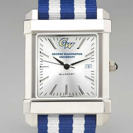 615789892434: George Washington Univ Collegiate Watch W/NATO Strap