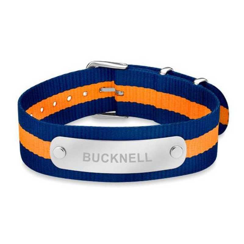 615789064800: Bucknell (Size-Large) NATO ID Bracelet
