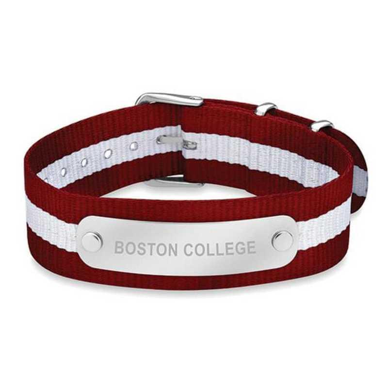 615789252016: Boston College (Size-Medium) NATO ID Bracelet