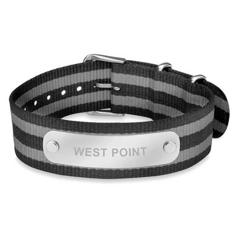 615789403180: West Point (Size-Medium) NATO ID Bracelet