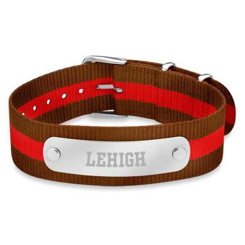 615789555872: Lehigh (Size-Large) NATO ID Bracelet