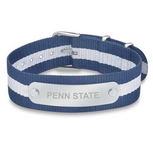 615789654544: Penn State (Size-Medium) NATO ID Bracelet