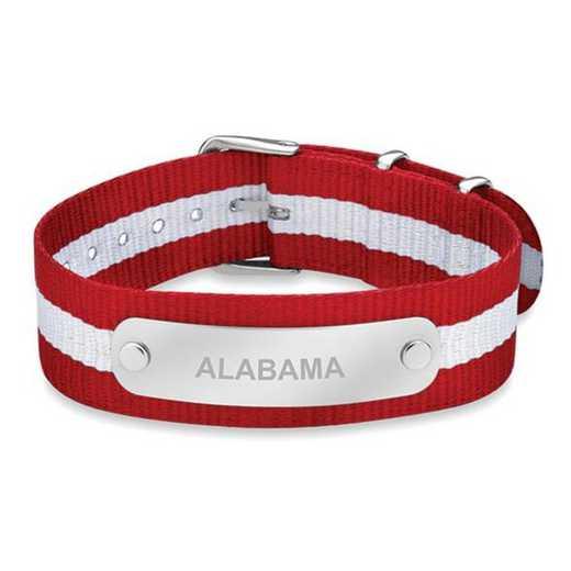 615789672562: Alabama (Size-Large) NATO ID Bracelet