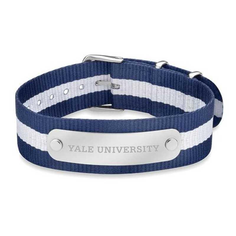 615789710929: Yale (Size-Medium) NATO ID Bracelet