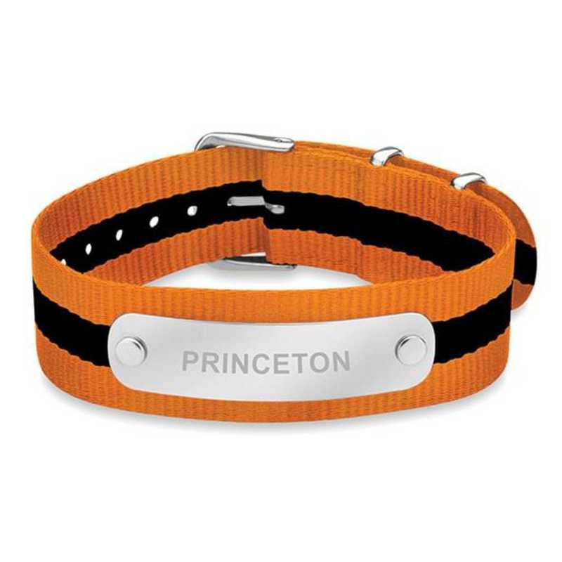 615789717515: Princeton (Size-Medium) NATO ID Bracelet