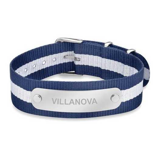 615789756392: Villanova (Size-Medium) NATO ID Bracelet
