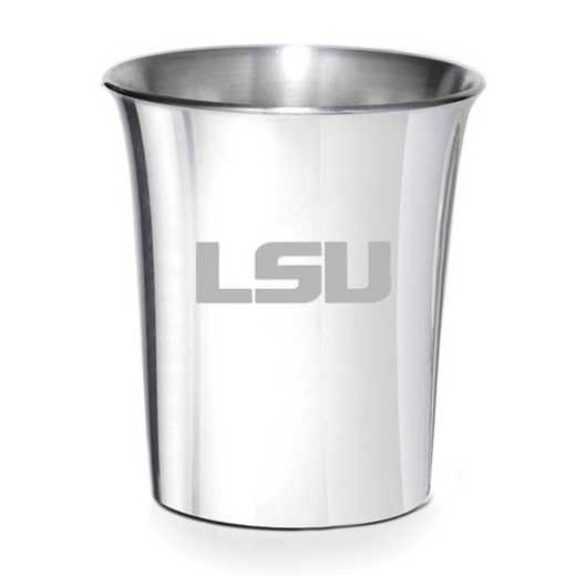 615789178170: LSU Pewter Jigger by M.LaHart & Co.