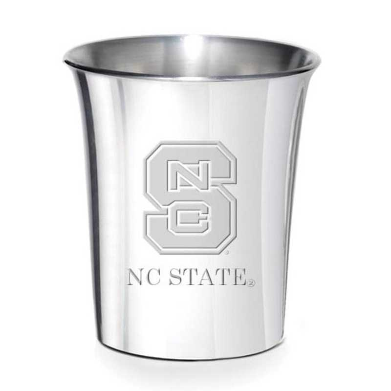 615789353614: NC State Pewter Jigger by M.LaHart & Co.