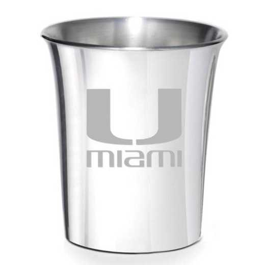 615789685791: Miami Pewter Jigger by M.LaHart & Co.