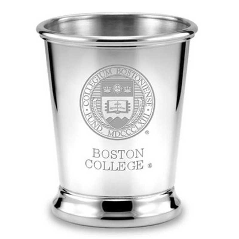 615789010432: Boston College Pewter Julep Cup by M.LaHart & Co.