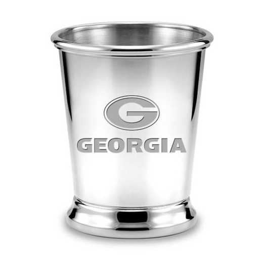 615789051558: Georgia Pewter Julep Cup by M.LaHart & Co.