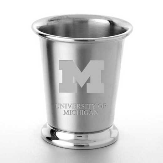 615789078241: Michigan Pewter Julep Cup by M.LaHart & Co.