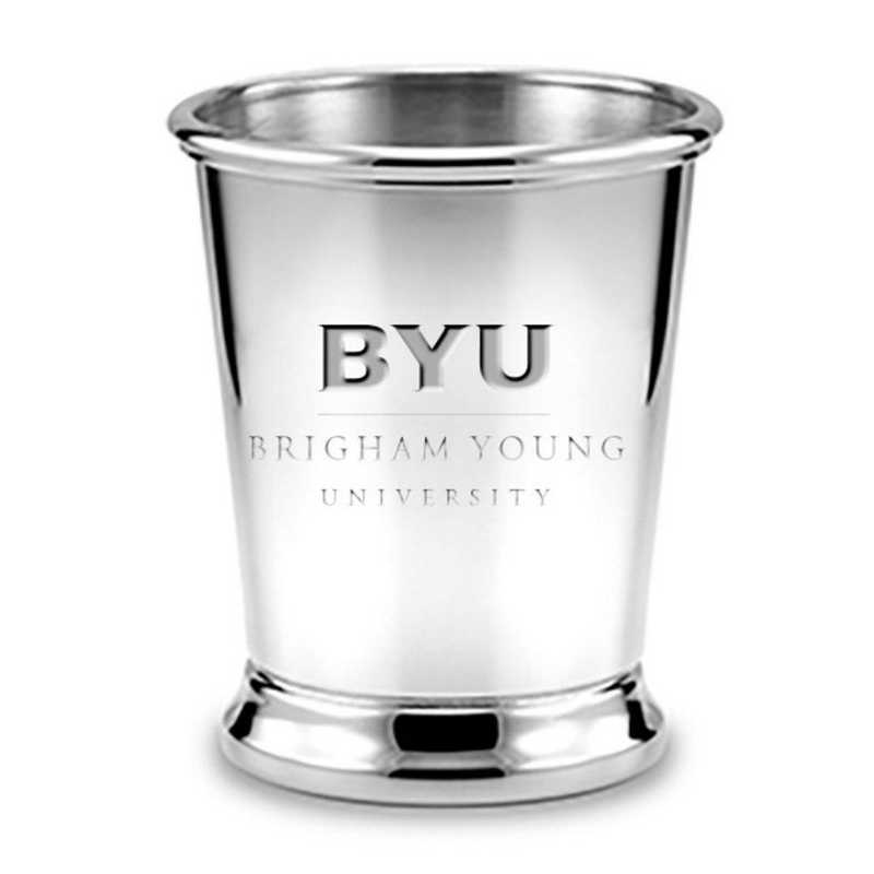 615789210757: Brigham Young University Pewter Julep Cup by M.LaHart & Co.