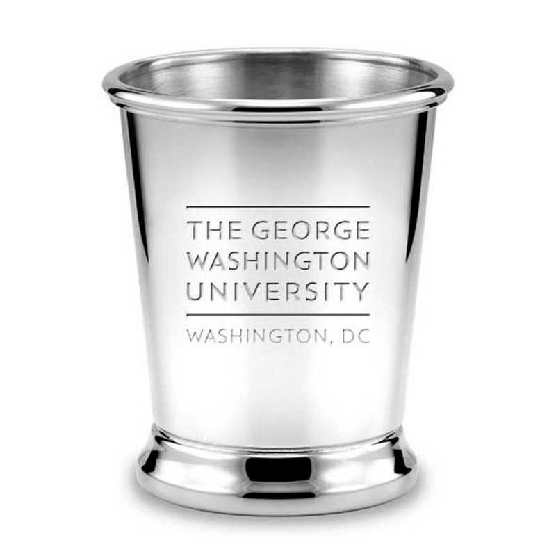 615789215035: George Washington Pewter Julep Cup by M.LaHart & Co.