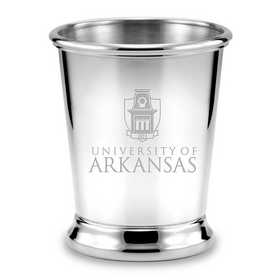 615789218722: University of Arkansas Pewter Julep Cup by M.LaHart & Co.