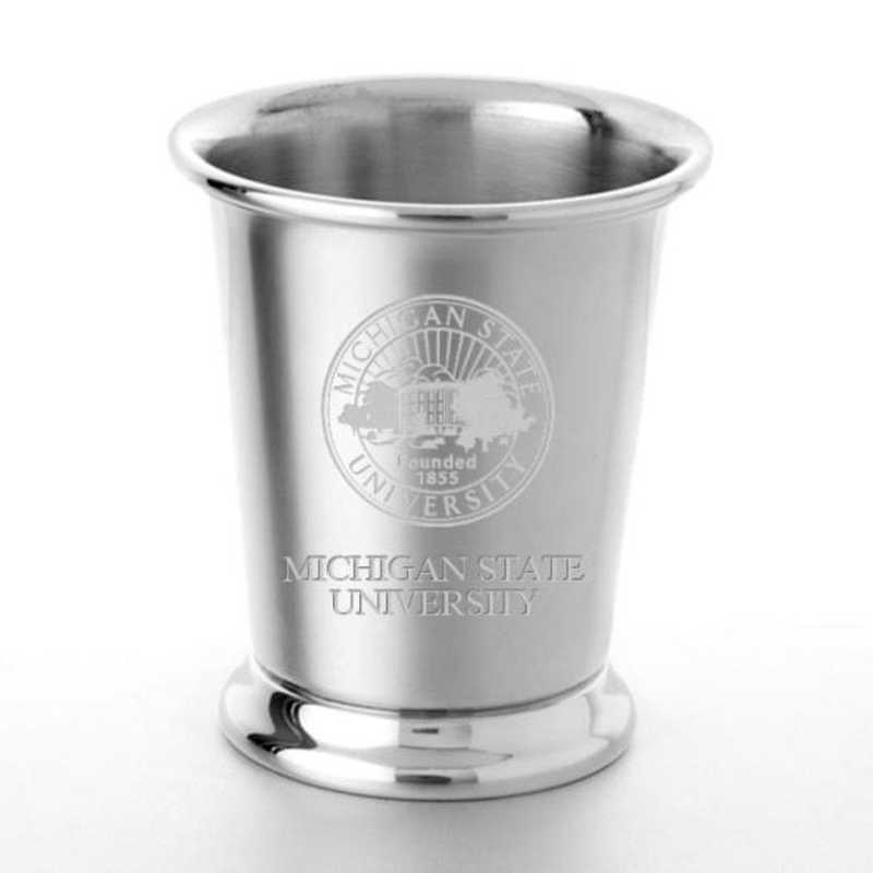 615789244783: Michigan State Pewter Julep Cup by M.LaHart & Co.
